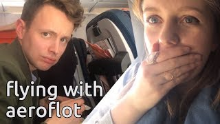 do not eat the food | aeroflot flight to tokyo honest review | japan vlog 2