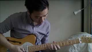 hd misty jazz standard fender 1972 72 telecaster thinline guitar mij demo by nicky tong