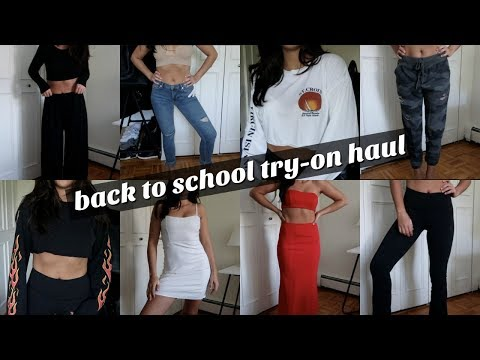HUGE BACK TO SCHOOL TRY-ON HAUL