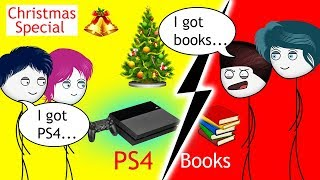 When a Gamer gets a PS4 on Christmas