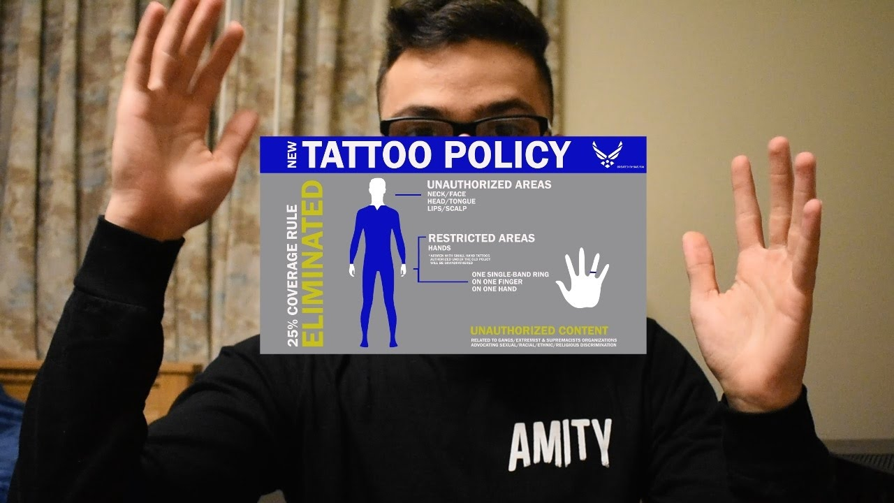 New air force tattoo policy 2017 youtube for Military tattoo policy 2017