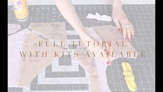 sew your own panties i madalynne x simplicity 8228 tutorial