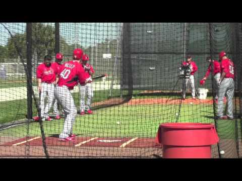 St. Louis Cardinals Spring Training-Pitchers & Catchers 2014