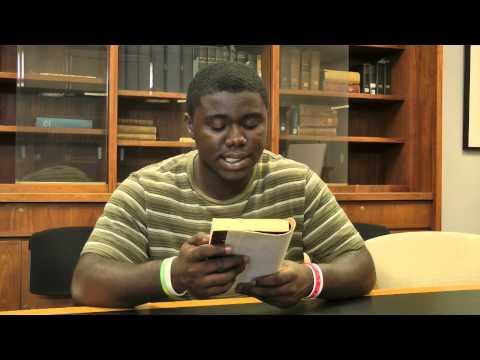 Virtual Read-Out 2013: Kaffir Boy read by Kwadwo (Junior) Darkwa-Anto