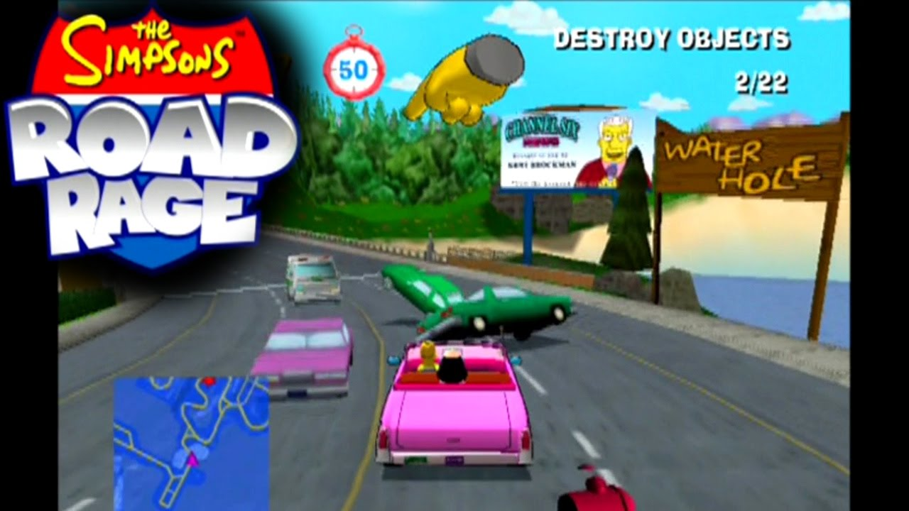 The Simpsons: Road Rage     (PS2)