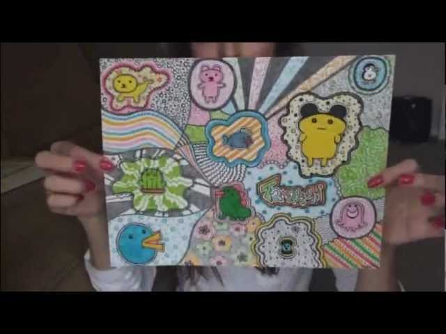 Gelly Roll Design Drawing Tutorial Doodle Ideas Socraftastic
