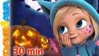 🎃 Little Pumpkin - Fall Halloween Song | Dave and Ava Nursery Rhymes & Kids Songs 🎃