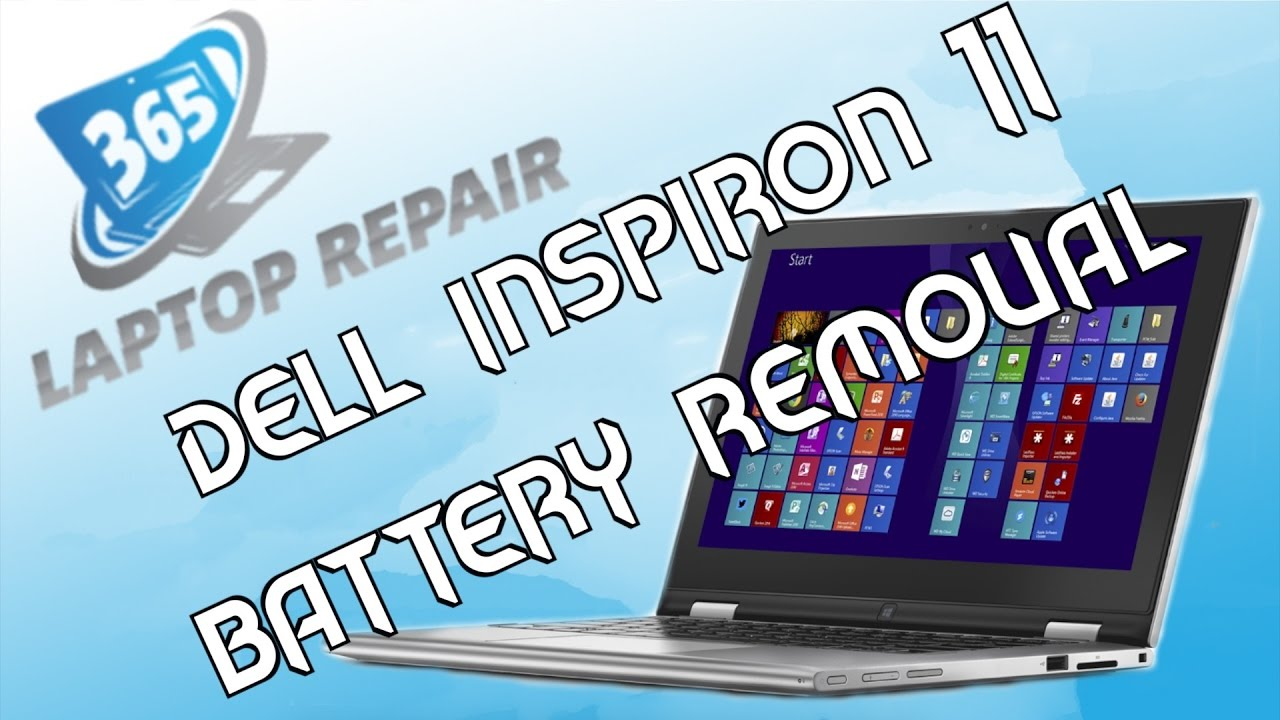 Dell Inspiron 11 3000 Battery Removal/Replacement