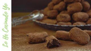 Cómo hacer Trufas de Chocolate (Receta fácil) | LHCY