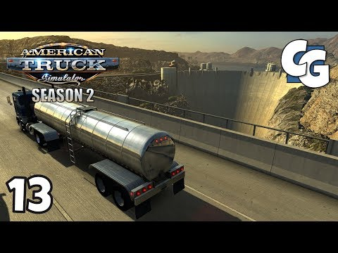 "ATS S02E13 - Natvander's ""Re-Signing ATS"" Project - American Truck Simulator New Mexico Let's Play"