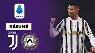 🇮🇹 Résumé : Un Cristiano Ronaldo en feu porte la Juventus contre l'Udinese