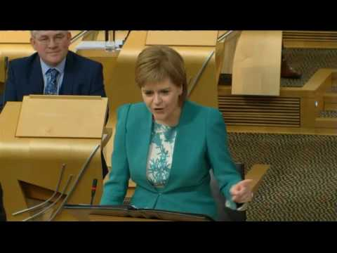 Nicola Sturgeon on Ruth Davidson: Breath-taking hypocrisy