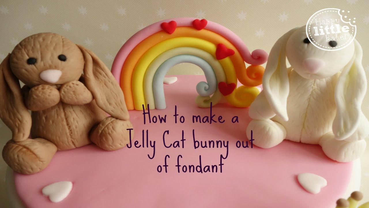 Cartoon Jelly Cake Recipe: Bunny Tutorial