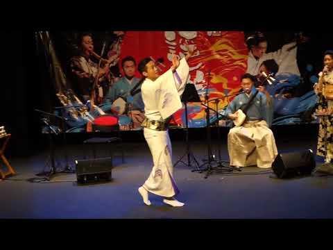 Traditional Japanese Minyo dance bySouki Kobayashi.