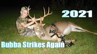 SEVEN YEAR OLD KILLS HIS SECOND BUCK WITH A COMPOUND BOW! 2021 Deer Hunt