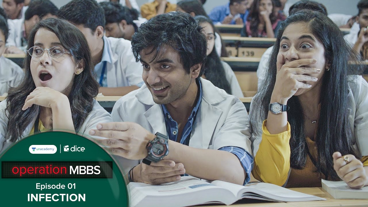 Download Dice Media | Operation MBBS | Web Series | Episode 1 - Infection ft. Ayush Mehra