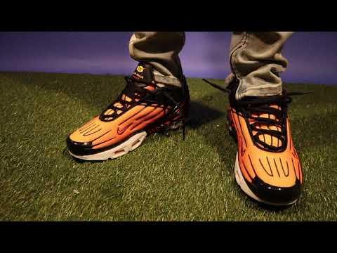 Nike Air Max Plus 3 'Tiger' On Feet