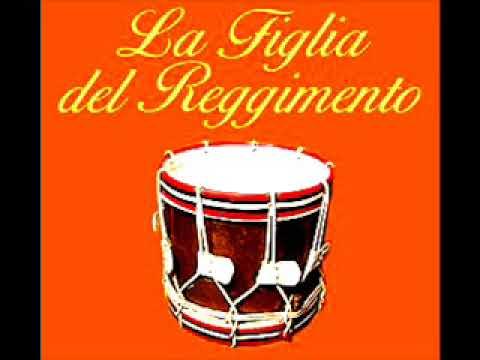 Donizetti: LA FIGLIA DEL REGGIMENTO. Kraus, Freni, Ganzarolli. Venezia. Diciembre 4, 1975