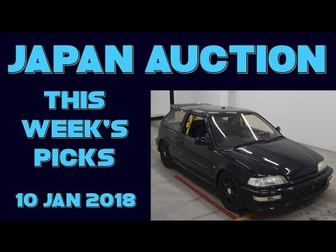 Japan Weekly Auction Picks 052 - 10 Jan 18