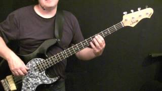 How To Play Bass Guitar To Could You Be Loved - Bob Marley