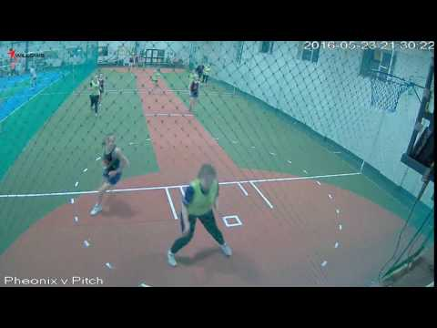 97975 Court1 Willows Sports Centre Cam2 Pheonix v Pitch Invasion Court1 Willows Sports Centre Cam2
