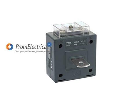 ТТИ-А Трансформатор тока измерительный на напряжение 0,66 kW IEK