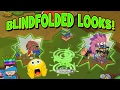 MAKING BLINDFOLDED LOOKS ON ANIMAL JAM - DONT TRY AT HOME!
