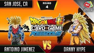 Dragon Ball Super Card Game Gameplay [DBS TCG] San Jose Regional Round 4