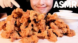 ASMR GARLIC SAUCE CHICKEN 노랑통닭…