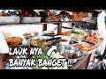 GEROBAK NASI PAKDE NGATIMIN LAUKNYA BANYAK BANGET !!! INDONESIAN STREET FOODS