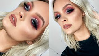 COLORFUL HOLIDAY MAKEUP - SHANE x JEFFREE CONSPIRACY PALETTE TUTORIAL