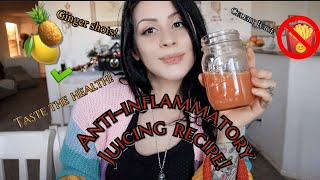 Anti-Inflammaory Juicing Recipe | Taste The Health!