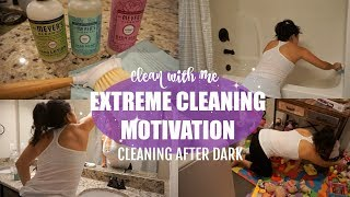 CLEAN WITH ME 2018 // RELAXING NIGHT TIME CLEANING MOTIVATION // XOJULIANA
