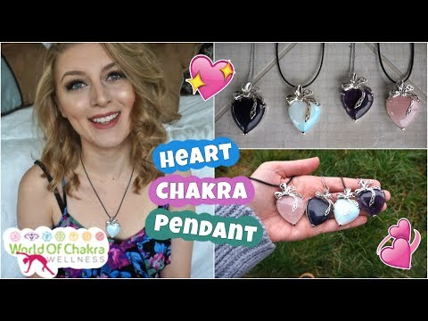 Heart Chakra Pendant! | Featuring World-of-Chakra-Wellness