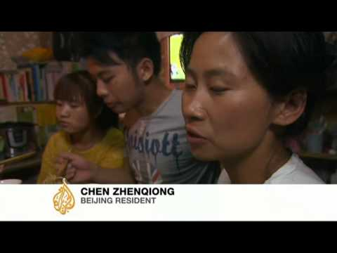 Struggling to put food on the table in China