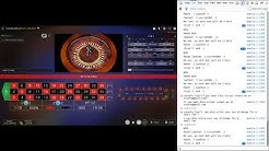 Live Roulette Session with JavaScript Bot - 1000uBTC in 6 Minutes
