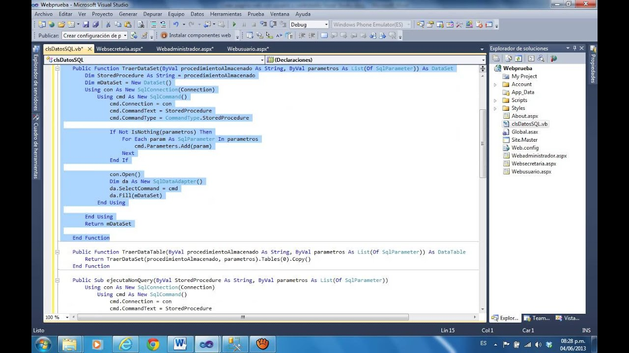 Crear pagina web con usuario y contrase a en visual studio Crear website