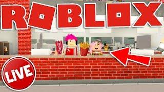 Roblox ITA - LIVE - Il nostro Fast food (Tycoon)