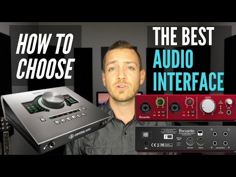 How To Choose The Best Audio Interface For Your Home Studio – TheRecordingRevolution.com