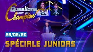 SPECIALE JUNIORS - EMISSION DU  26 FÉVRIER