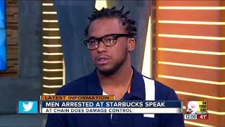 Men arrested at Starbucks speak