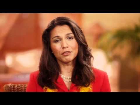 Tulsi Gabbard Offers to Serve You in Congress
