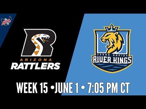 IFL Week 15 | Arizona Rattlers at Cedar Rapids River Kings