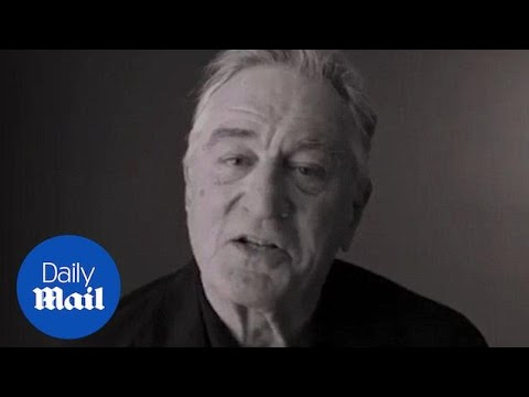 Actor Robert De Niro goes off on Donald Trump  Daily Mail