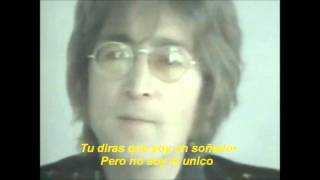 John Lennon Imagine Subtitulos