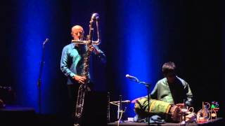 Contrabass flute with Indian Percussion