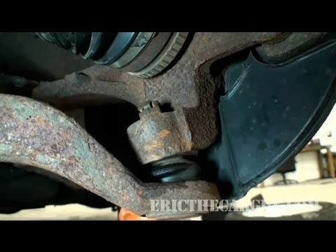 How To Tighten Ball Joints That Just Spin - EricTheCarGuy - YouTube