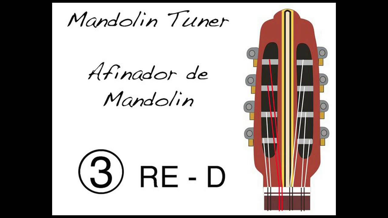 Afinador de Mandolina - Mandolin Tuner