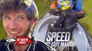 Guy's Hovercraft Crashes | Guy Martin Proper