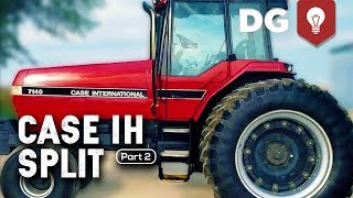 reassembling a split case ih tractor 7140 part 2